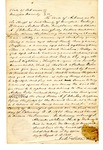 Writ of Replevin, Andrew Estes v. Willis A.J. Clinton, 1850 August 30