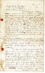 Depositions of witnesses, 1851 January 16