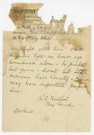 1874 April 27: Major General R.C. Newton, Little Rock, to Brigadier General H. King White, Pine Bluff