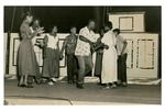 African Americans Square Dancing
