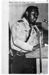 Marion Taylor, First African American State Trooper in Arkansas