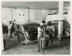 Students Working on Automobiles at the Arkansas Trade School