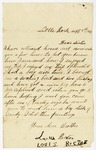 Letter, Louis Rector to Annie Rector Copeland