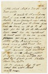 Letter, William and Louis Rector to Annie Rector Copeland
