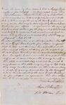 Document, George Washington Free Black bond