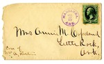 Letter, William Copeland to Annie Copeland