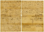 Probate, John Crowley; Letter of administration for Benjamin Crowley