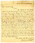 Letter, Joseph Egner to Chester Ashley