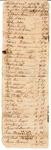 Document, debts to William Searcy
