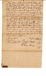 Penal bond for ferry operation, William Hix, Perry G. Magness, and William Harris