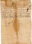 Probate, Benjamin Crowley's account against John Crowley