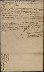 Document, selling liquor to Delaware Indian