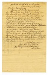 Letter, Colonel A.S. Alexander to Governor Henry M. Rector