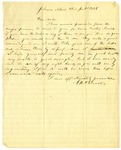 Letter, N.W. Stewart to his uncle