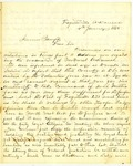 Letter, John Camp to Governor Isaac Murphy