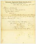 Muster report, 1865 January 1