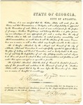 Secession Preamble from the city of Atlanta