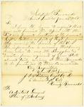 Letter, J.C. Whitney to the Adjutant General of Arkansas