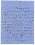 Letter, David Walker to David C. Williams