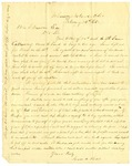 Letter, Jesse A. Ross to Ben S. Duncan