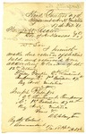 Letter, Col. R.S. Clayton to Governor Henry M. Rector