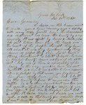 Letter, George C. Croft to Governor Henry M. Rector
