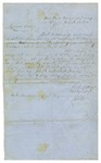 Letter, Lieutenant Colonel A.V. Ruff to A.S. Holderness