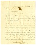 Letter, W. Babcock to Ralph Goodrich