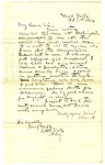 Letter, E.W. Gantt to Governor Isaac Murphy