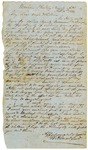 Letter, William A. Crawford to Sarah Crawford