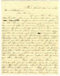 Letter, Samuel L. Griffith to David C. Williams