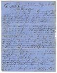Letter, W. Cox and Company to General William E. Ashley