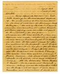 Letter, John J. Walker to W.W. Mansfield