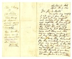 Letter, Thomas J. Kelly to Governor Henry M. Rector