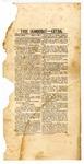 Telegraphic bulletin, The True Democrat--Extra, May 2, 1861
