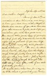 Letter, J.A. Griffing to Ralph Goodrich