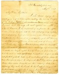 Letter, William H. Woodruff to his Mother