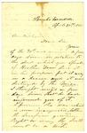 Letter, E.H. Cunningham to David C. Williams