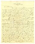Letter, Jesse Turner to David C. Williams