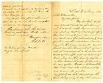 Letter, C.G. Scott to D.C. Williams