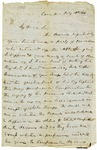 Letter, T.H. Holmes to Governor Harris Flanagin
