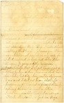 Letter, Josie King to Unnamed Friend