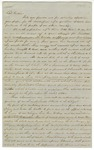 Letters, A.B. Williams to Governor Harris Flanagin and John R. Eakin