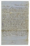 Letter, George M. Turner to