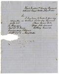DeRosey Carroll, Headquarters, First Cavalry Regiment, Arkansas Volunteers, Camp Walker, to General  N.B. Pearce