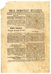 True Democrat Bulletin, September 28, 1861