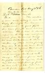 E.A. Warren, Jr., Camden, Arkansas, to Governor Henry Rector