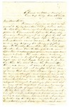 Letter, Eliot H. Fletcher, Jr. to Elliot H. Fletcher, Sr., September 26, 1861