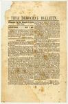 True Democrat Bulletin, November 7, 1861