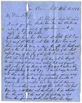 J.M. Loughborough, Van Buren, Arkansas, to Mary W. Loughborough, Water Valley, Missouri